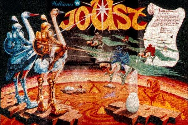 Vintage Video Games – JOUST