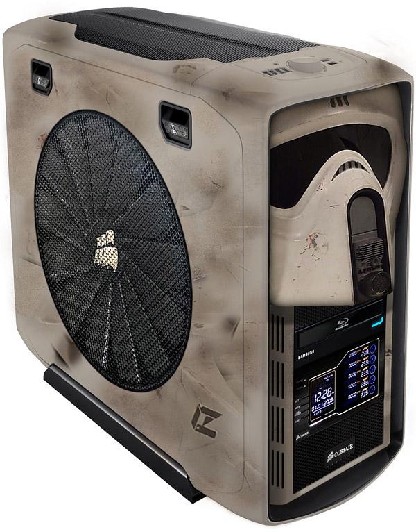 Stormtrooper PC case mod Corsair 600T
