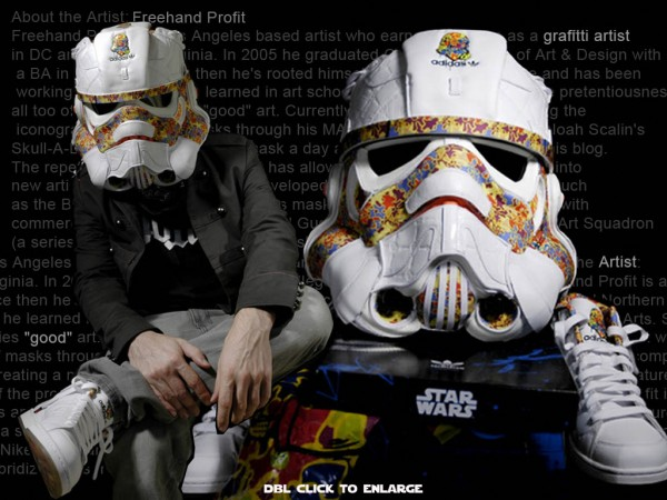 "TSR – Featured Artist: Freehand Profit    ""All Day I Dream About Stormtroopers"""
