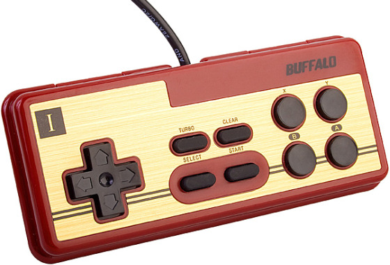 "USB ""Nintendo"" PC Game Pad by Buffalo"