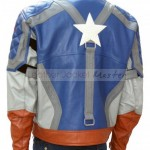 Capt America Jacket Back