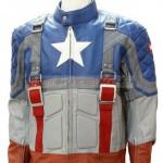 Capt America Jacket Front