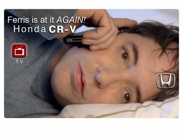 "Official Honda CR-V Commercial ""Ferris Bueller"" Spoof"