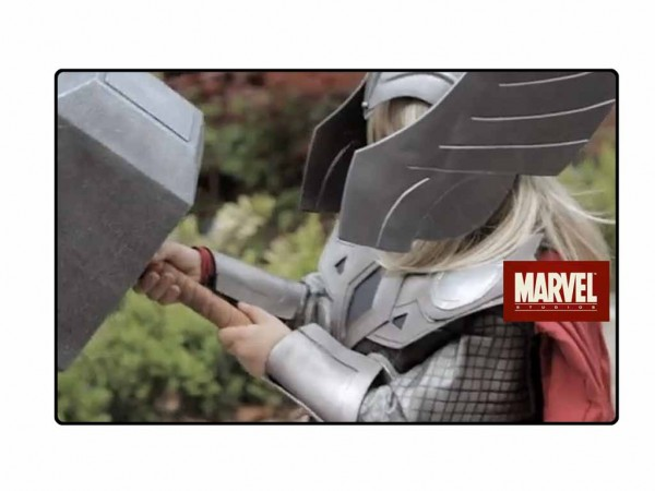 "T.V. – Lightning Strikes as Marvel Entertainment spoofs Volkswagen Commercial with ""Lil' Thor""."