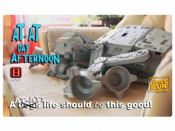 """AT-AT Day Afternoon"" a short film"