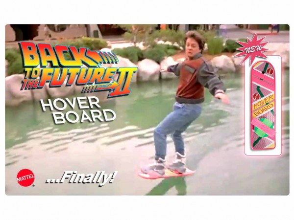 Back to the Future Hoverboards? FINALLY!