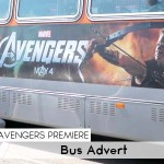 Avengers Premiere_Bus Advert