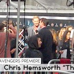 Avengers Premiere_Chris Hemsworth 1