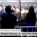 Avengers Premiere_RDjr and Tom Hiddleston