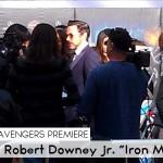 Avengers Premiere_Robert Downey 1
