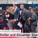 Random image: Avengers Premiere_Stellan and Alexander Skarsgård 1