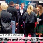 Random image: Avengers Premiere_Stellan and Alexander Skarsgård