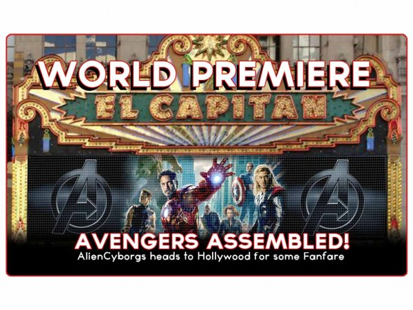 """World Premiere – Avengers Assembled!"