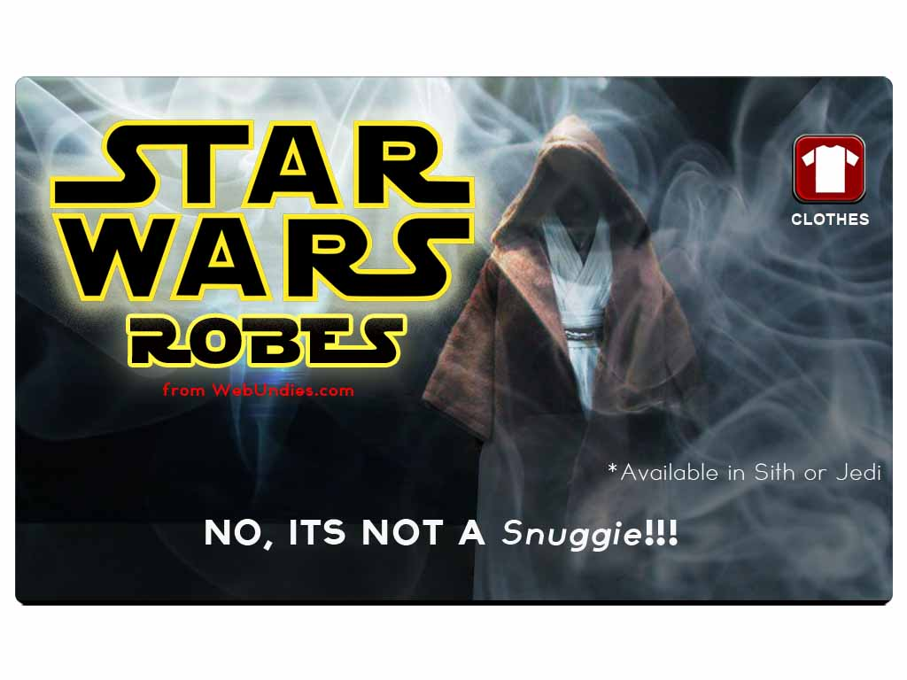 Star Wars Hooded Terry Velour Robe – Choose your side!