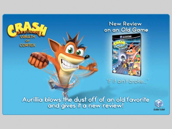New Review on an Old Game – Crash Bandicoot: The Wrath of Cortex