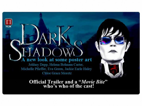 Dark Shadows – Peek at some Poster Art