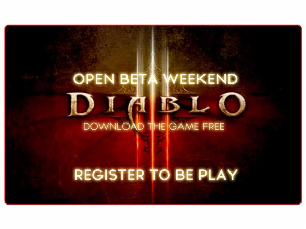 Diablo III Open Beta Weekend – Download the Game!