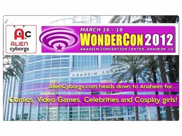 AlienCyborgs at WonderCon 2012