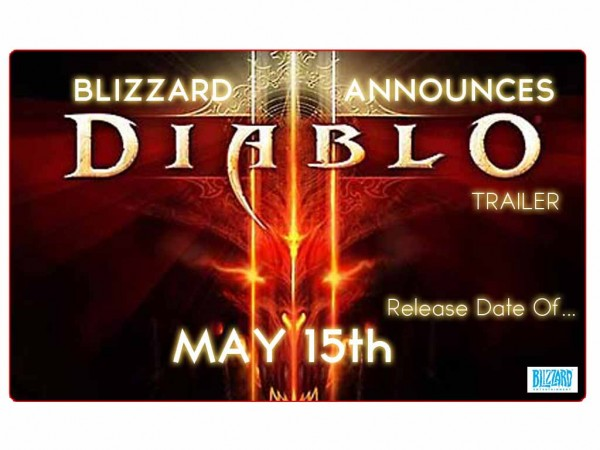 Diablo III MAY 15th!!!