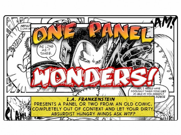 One Page Wonders – Iron Man: Prison Mates?