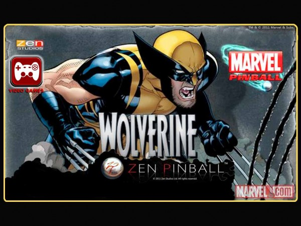 "Mobile Games – Marvel Wolverine Pinball ""ON SALE NOW!"""