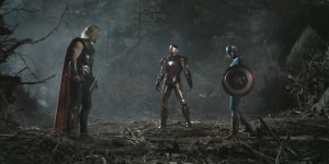 The Avengers: Thor, Iron Man, Capt. America