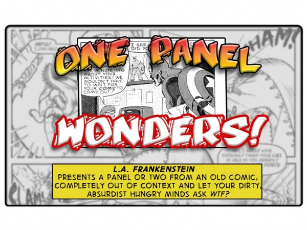 One Panel Wonder – Captain America vs *Hackers?