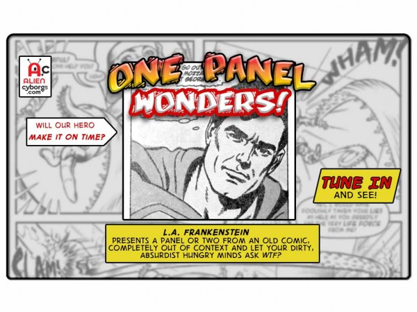 One Panel Wonders – Superman's Meatballs