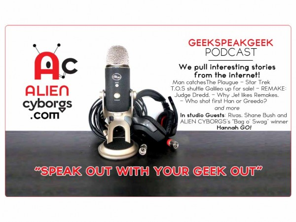 Geeks Speak Geek Podcast: News from the web!