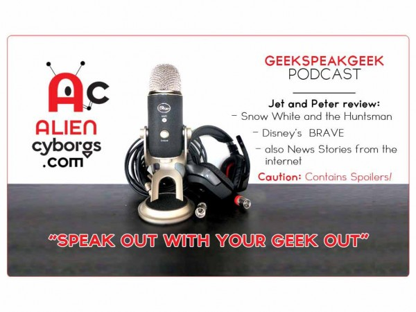 GEEK SPEAK GEEK PODCAST: Movie Review Snow White and the Huntsman