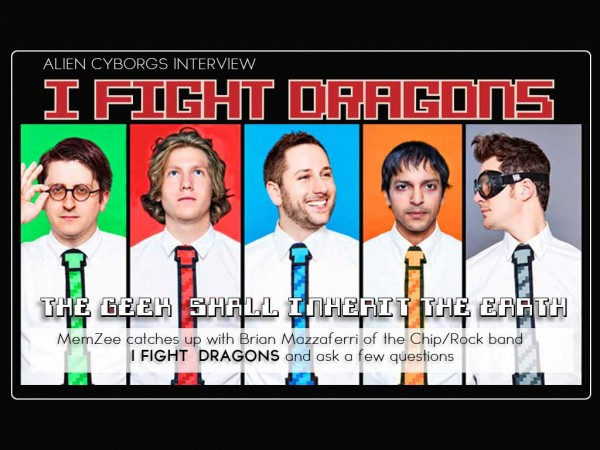 "Chiptune/Rock Band ""I Fight Dragons"" Proves That The Geeks Will Inherit The Earth"