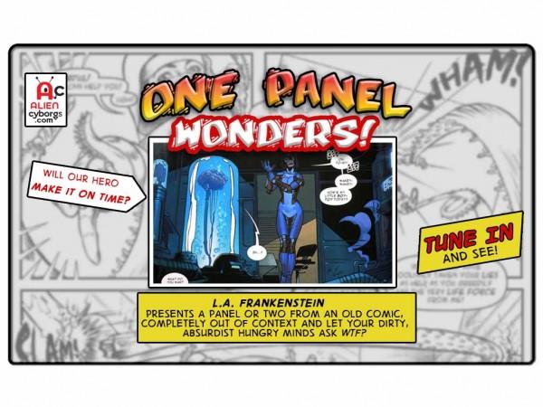 One Panel Wonders – Iron Man gives good brain