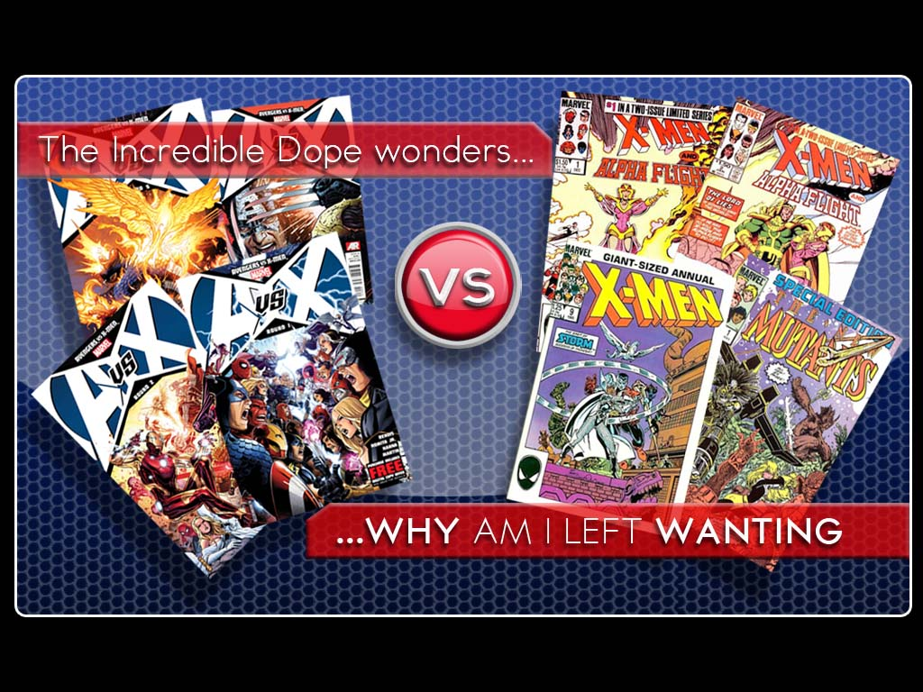 Avengers vs X-Men vs My Longing For Asgardian Wars