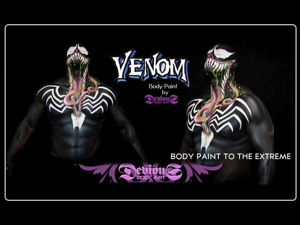 Devious Studios: Body Painting on another level