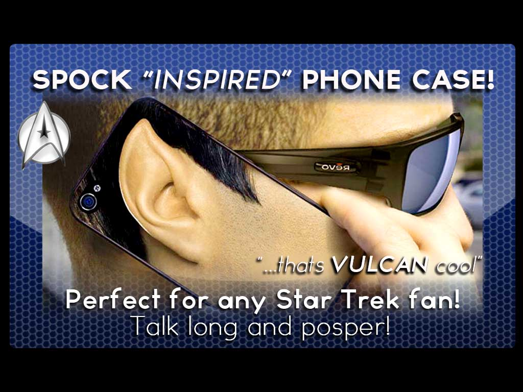 Vulcan Ear Phone Case for your Iphone!