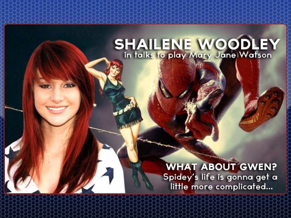 Shailene Woodley in talks to play Mary Jane Watson