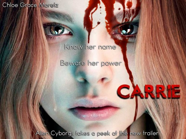 First Look at the CARRIE Remake Teaser Trailer