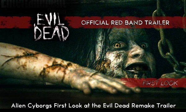 FIRST LOOK – THE EVIL DEAD OFFICIAL RED BAN TRAILER