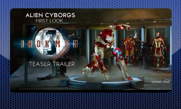 First Look at IRON MAN 3 Teaser Trailer