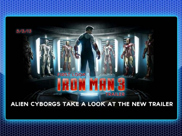 Alien Cyborgs First Look – IRON MAN 3
