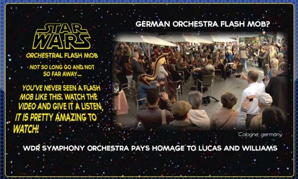 FLASH MOB SYMPHONY – STAR WARS THEME