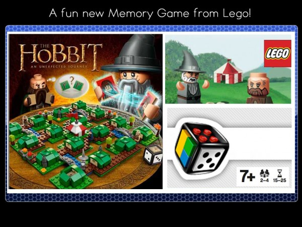New Lego Memory Game: The Hobbit: An Unexpected Journey! New Lego Memory Game