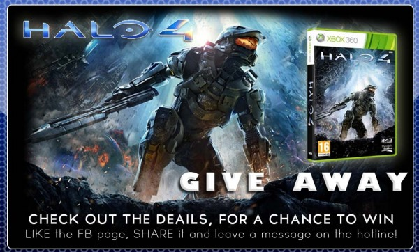 ALIEN CYBORGS: HALO 4 GAME GIVEAWAY