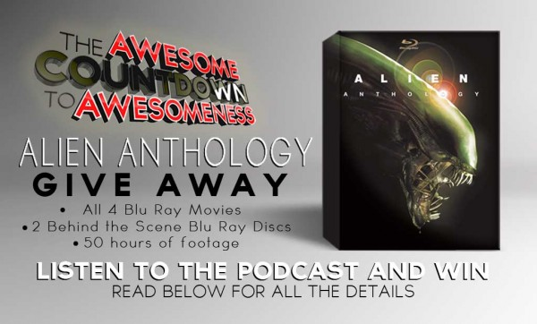 ALIEN ANTHOLOGY BLU RAY GIVE AWAY