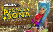 Mizzi Mie WOWS us as Arcade Sona from League of Legends