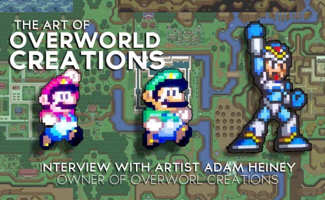 Featured Artist: Adam Heiney owner and creator of &#8220;Overworld Creations&#8221;