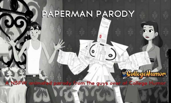 "Parody of Disney's animated short ""Paperman"". NSFW"