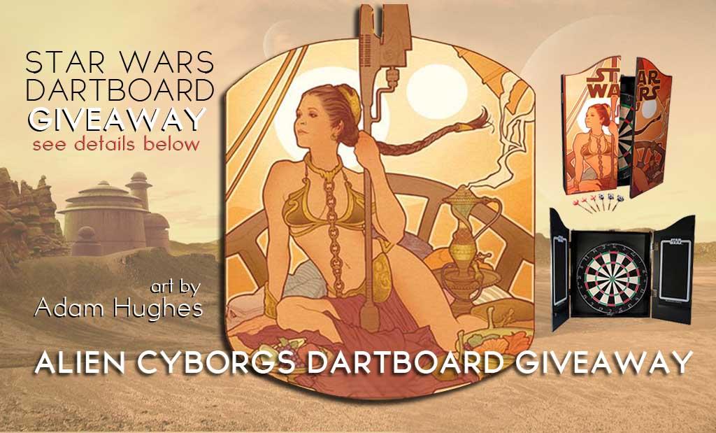 """Last Daughter Of Alderaan"" Dartboard Giveaway"