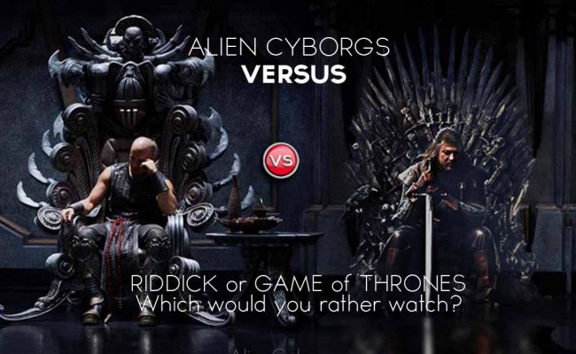 Alien Cyborgs VERSUS &#8211; Throne vs Throne