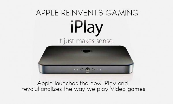 Apple Releases the IPLAY and revolutionizes gaming!